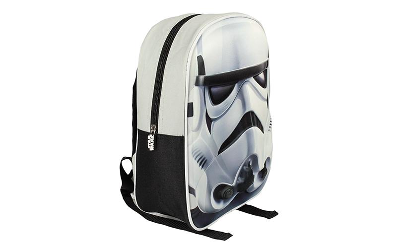 Σχολική τσάντα με φερμουάρ και ρυθμιζόμενους ιμάντες 3D StarsWars Stormtrooper,  παιχνίδια  παιδί  και  βρέφος   παιδικές τσάντες