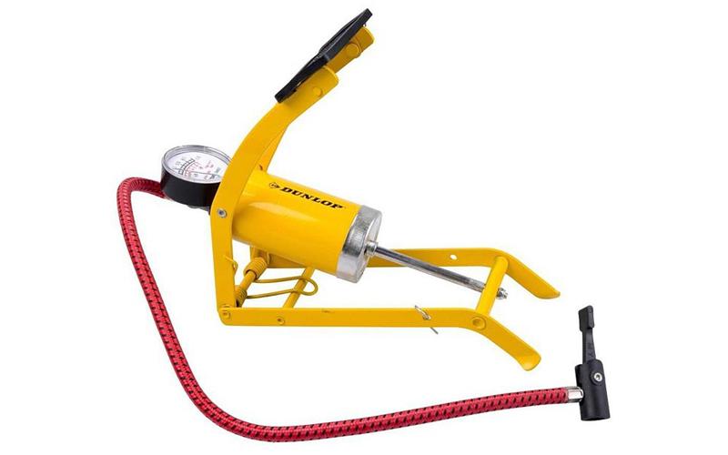 Dunlop Τρόμπα ποδιού 8 bar/120 psi για Αυτοκίνητο Μοτοσικλέτα Ποδήλατο Φουσκωτές αξεσουάρ αυτοκινήτου   επισκευή   συντήρηση   φορτιστές