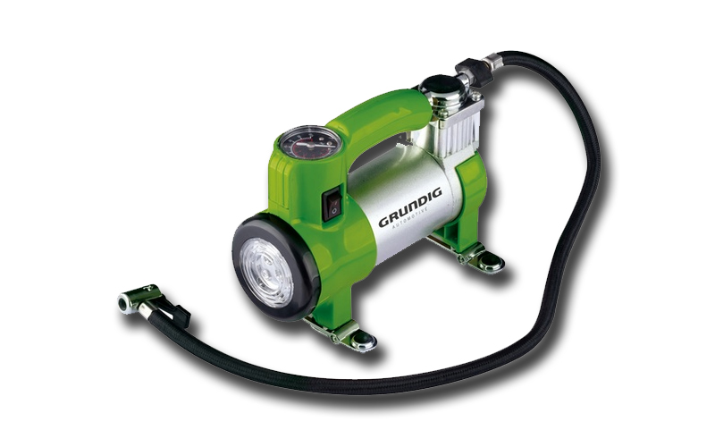 Grundig 46937 Ηλεκτρικό Κομπρεσέρ Αέρα Αυτοκινήτου 100 psi 7 Bar με Φως εργασίας αξεσουάρ αυτοκινήτου   επισκευή   συντήρηση   φορτιστές