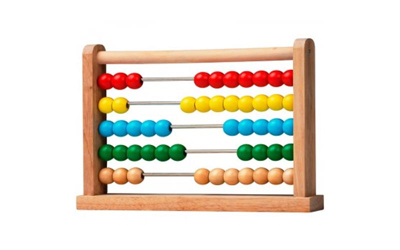 Ξύλινο Αριθμητήριο Άβακας 175x40x252mm με χρώματα απο 10 χάντρες, Marionette Woo παιχνίδια   εκπαιδευτικά παιχνίδια