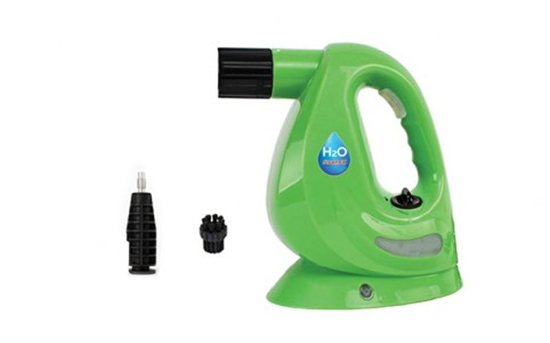 Φορητός Ατμοκαθαριστής χιρός 5 σε 1 1250W σε πράσινο χρώμα, H2O SteamFX ΚΒ-009Α  καθαριότητα και σιδέρωμα   ατμοκαθαριστές