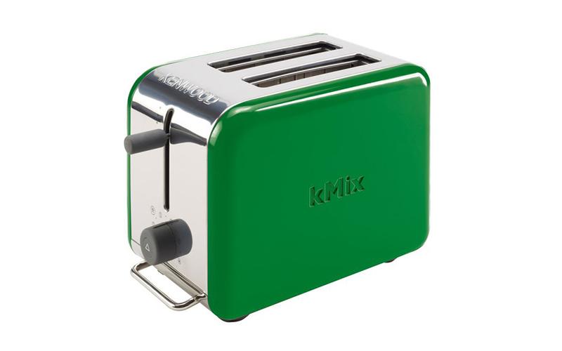 Φρυγανιέρα 900W με οπτικό έλεγχο και εργονομικές λαβές σε Πράσινο χρώμα, Kenwood μικροσυσκευές   φρυγανιέρες