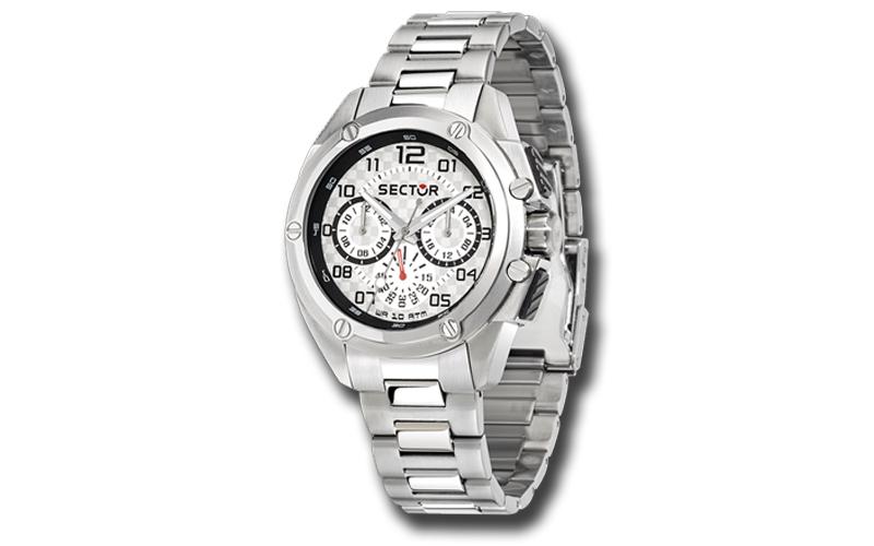 Sector R3253581003 Ανδρικό Ρολόι 950 Multi function Stainless Steel Bracelet Chr ρολόγια χειρός   ανδρικά ρολόγια χειρός