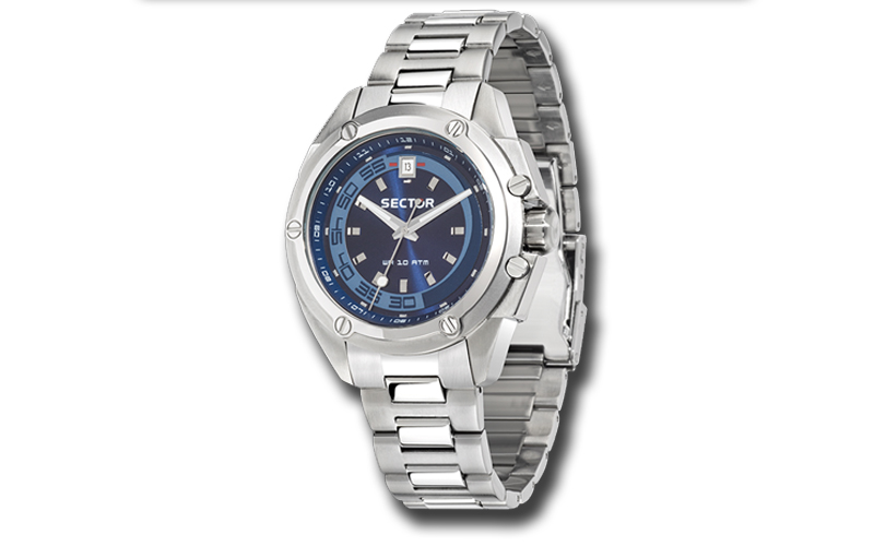 Sector R3253581004 Ανδρικό Ρολόι 950 Date Bracelet - Sector ρολόγια χειρός   ανδρικά ρολόγια χειρός