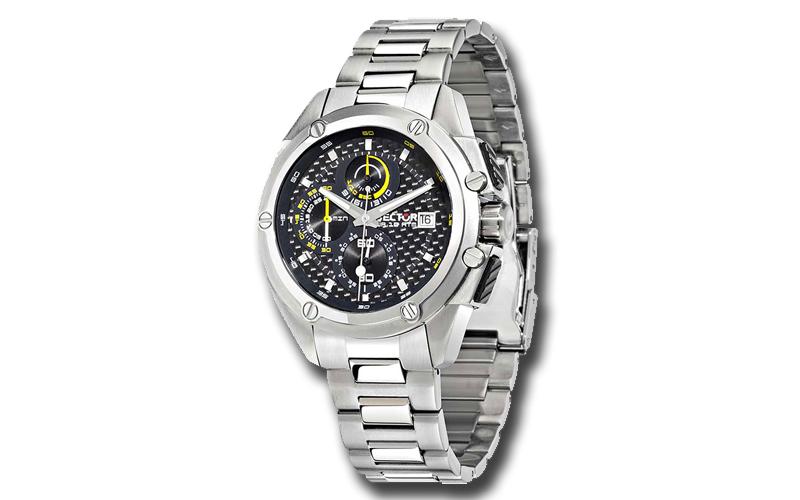 Sector R3273981002 Ανδρικό Ρολόι 950 Multi function Stainless Steel Bracelet Chr ρολόγια χειρός   ανδρικά ρολόγια χειρός