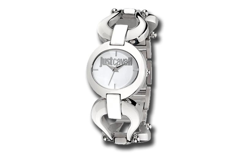 Just Cavalli R7253109502029 Γυναικείο Ρολόι JC Cruise White Silver Bracelet - Ju ρολόγια χειρός   γυναικεία ρολόγια χειρός