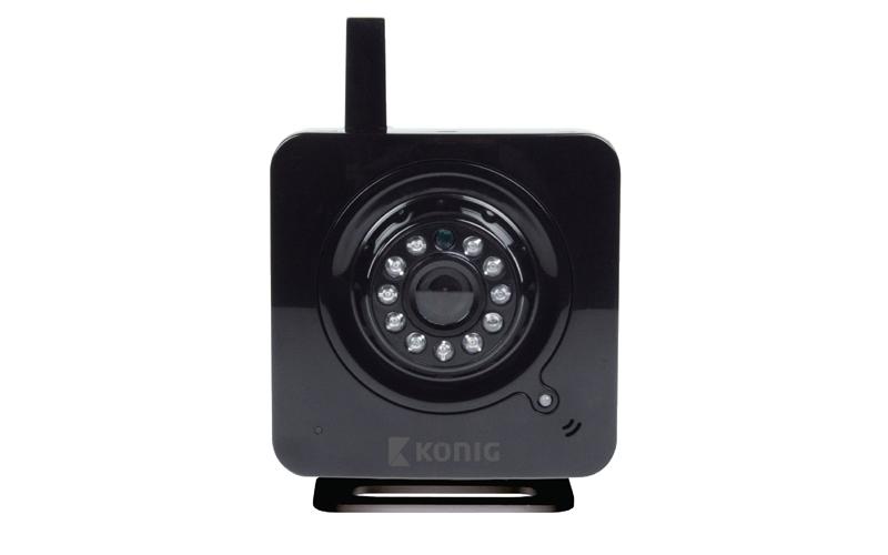 IP κάμερα εσωτερικού χώρου με 10 LED για νυχτερινή λήψη MJPEG - Μαύρο Χρώμα, Kon αυτοματισμοί και ασφάλεια   κάμερες