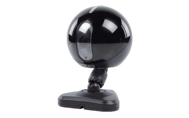 IP κάμερα εσωτερικού χώρου MJPEG - Μαύρο Χρώμα, Konig SEC-IPCAM 105B - Konig αυτοματισμοί και ασφάλεια   κάμερες