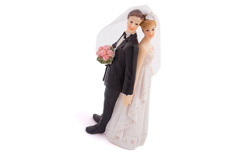 Διακοσμητικό γαμήλιας τούρτας με νύφη και γαμπρό - Cb gadgets   δώρα αγάπης