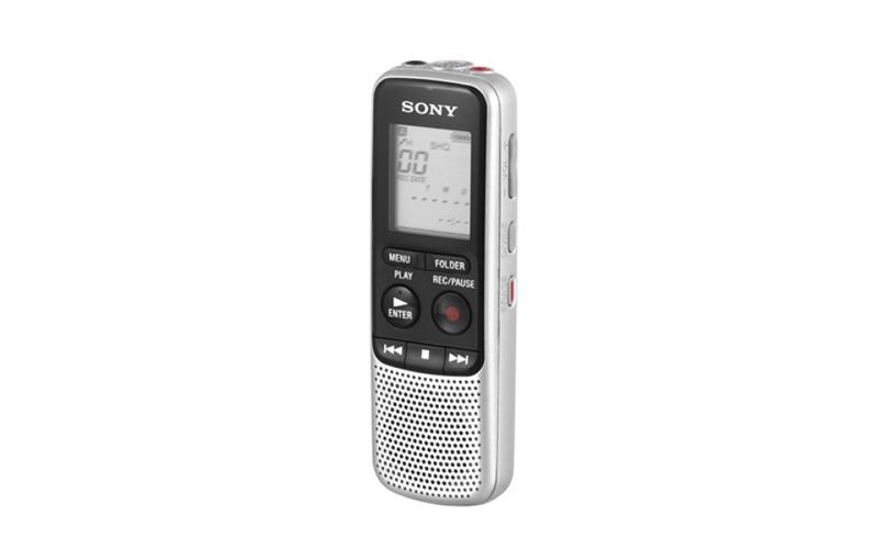 Ψηφιακή συσκευή εγγραφής σε χρώμα Ασημί, Sony ICDBX140 - Sony gadgets   gadgets