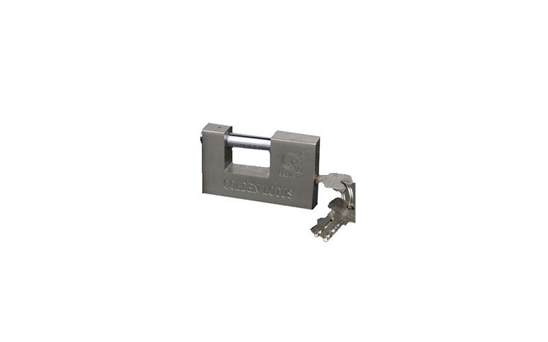 Ατσάλινο Λουκέτο Ασφαλείας Βαρέως Τύπου 84mm - OEM εργαλεία για μαστορέματα   αξεσουάρ  και  αναλώσιμα ηλεκτρικών εργαλείων