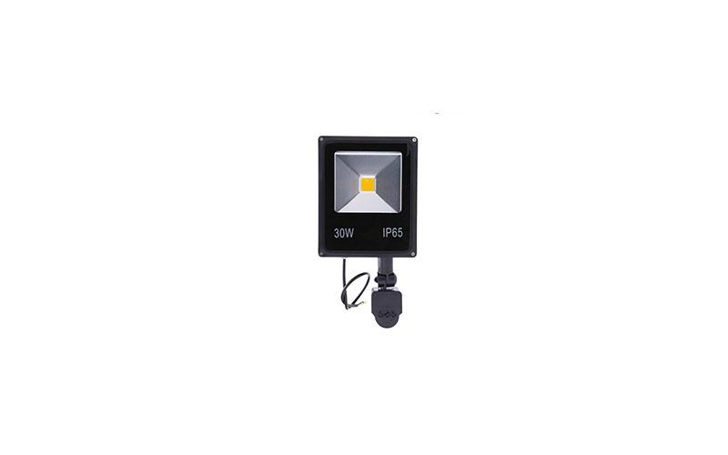 Ultra Slim Προβολέας LED 30w με Ανιχνευτή Κίνησης Λευκό 6000K Υψηλής Φωτεινότητα σπίτι   ηλεκτρολογικός εξοπλισμός