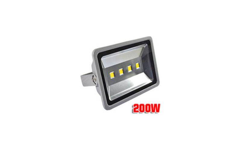 Slim Προβολέας LED 200W – Αδιάβροχος IP65 Υψηλής Απόδοσης – 80% οικονομία – OEM