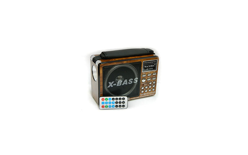 Επαναφορτιζόμενο Ψηφιακό Ραδιόφωνο με USB/SD Player SD και Φακό LED ΟΕΜ - OEM τεχνολογία   cd   mp3 4   dvd   media players