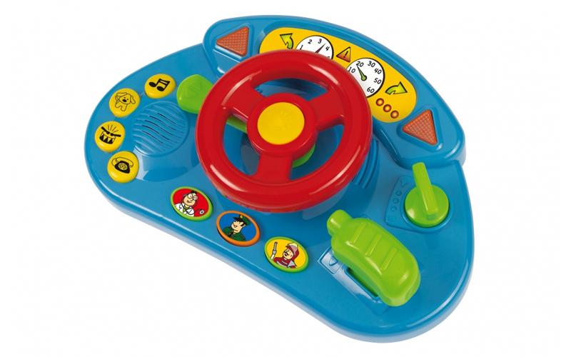 Εκπαιδευτικό Παιχνίδι Όργανα Αυτοκινήτου ABC με ήχους και φώτα απο 12μηνών+, Sim παιχνίδια  παιδί  και  βρέφος   για μωρά