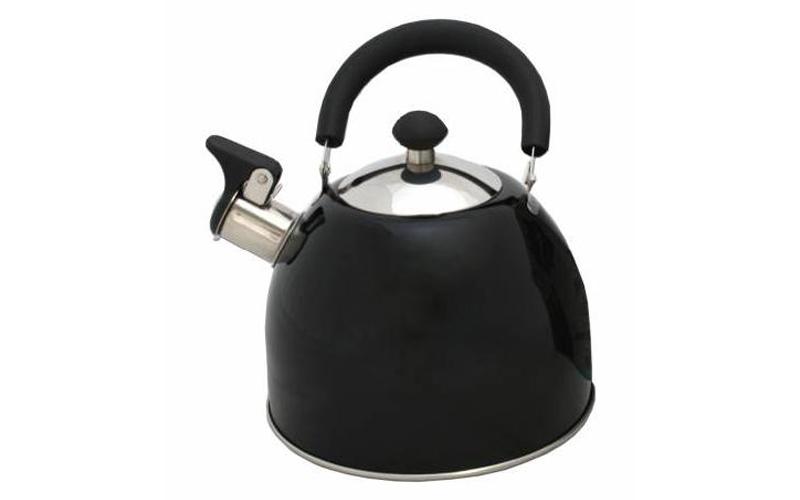 Τσαγιέρα Βραστήρας 2.5 Λίτρα απο Ανοξείδωτο Χάλυβα σε Μαύρο Χρώμα, 613-721211 Μα μικροσυσκευές   βραστήρες