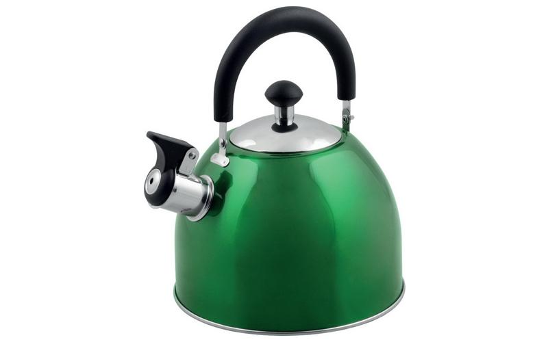 Τσαγιέρα Βραστήρας 2.5 Λίτρα απο Ανοξείδωτο Χάλυβα σε Πράσινο Χρώμα, 613-721211  μικροσυσκευές   βραστήρες