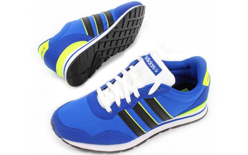 Ανδρικό Αθλητικό Παπούτσι Running Adidas Neo V Jogger σε Μπλε Χρώμα, Adidas F978 άνδρας   υπόδηση