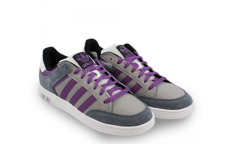 Ανδρικό Casual Παπούτσι Adidas Varial ST σε Γκρι/Λιλά Χρώμα, Adidas G43990 - Adi άνδρας   υπόδηση
