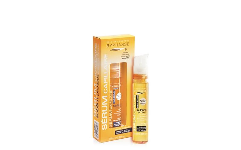 Ορός Προστασίας για Ξηρά και Ταλαιπωρημένα μαλλιά απο Υγρή Πρωτεϊνη Μεταξιού 50m κομμωτική   μαλακτικές και βελτιωτικές κρέμες