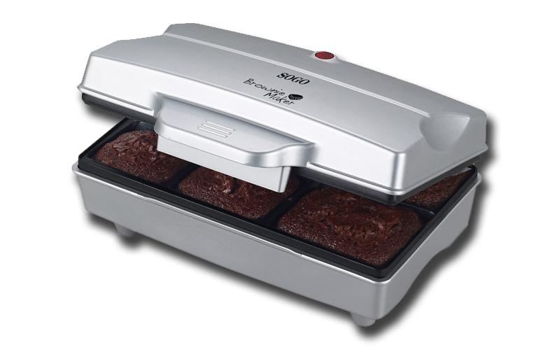 Μηχανή Παρασκευής Brownies 800W, Sogo SS-7195 - SOGO μικροσυσκευές   βάφλες  κρέπες  μπισκότα  κέικ