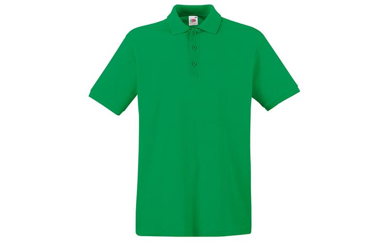 Ανδρική Πόλο Μπλούζα με κουμπιά 65/35 Polo, Kelly Green No 47, Fruit of the Loom ανδρική ένδυση   ανδρικές μπλούζες