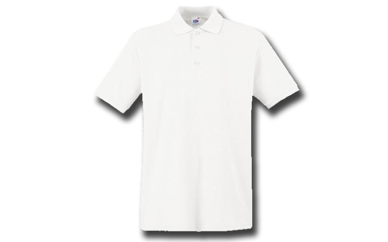 Ανδρική Πόλο Μπλούζα με κουμπιά 65/35 Polo, White No 30, Fruit of the Loom 63-40 ανδρική ένδυση   ανδρικές μπλούζες