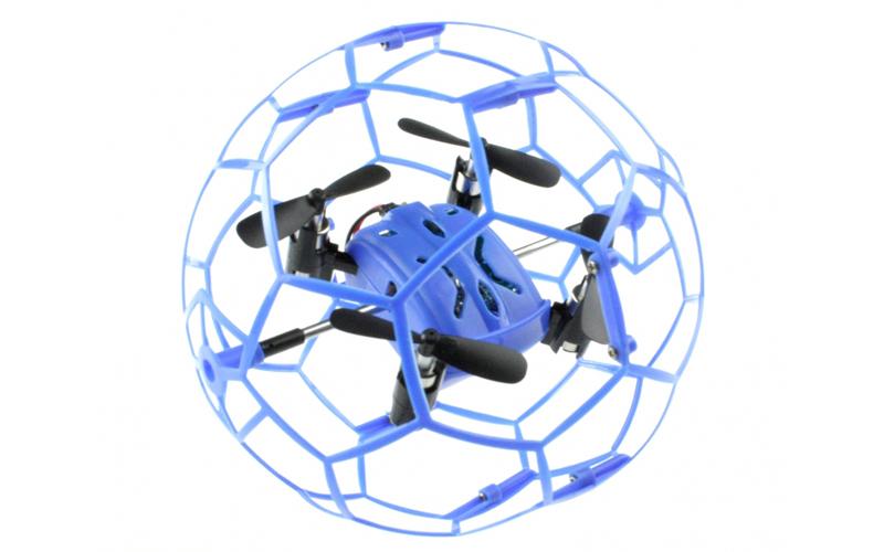 Mini Τηλεκατευθυνόμενο Drone Ελικόπτερο 6 Axis Gyro 2.4Hz με κλωβό ασφαλείας για gadgets   drones   τηλεκατευθυνόμενα