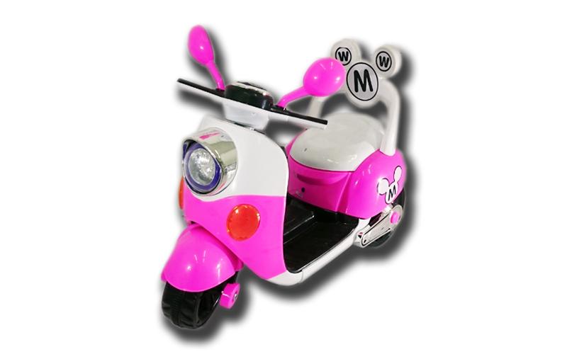 Ηλεκτροκίνητο Παιδικό Μηχανάκι Scooter Τύπου Vespa 6V με φώτα και υποδοχή για MP παιχνίδια  παιδί  και  βρέφος   ποδηλατάκια   πατίνια