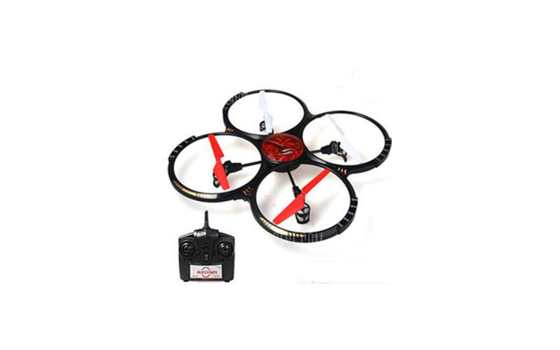 Τηλεκατευθυνόμενο Τετρακόπτερο Drone 6 Axis Gyro 3D-360 2.4GHz Universe Defender τεχνολογία   gadgets