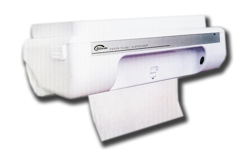 Αυτόματος Διανεμητής Ρολού Χειροπετσέτας με Φωτοκύτταρο και ενσωματωμένο κόφτη,  μπάνιο   αξεσουάρ μπάνιου