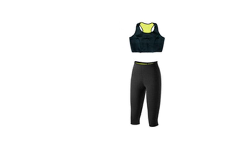 Σετ Έξυπνη Βερμούδα Κολάν & Top Εφίδρωσης και Αδυνατίσματος - OEM αθλητισμός και fitness   ρούχα  αξεσουάρ και φορητή τεχνολογία
