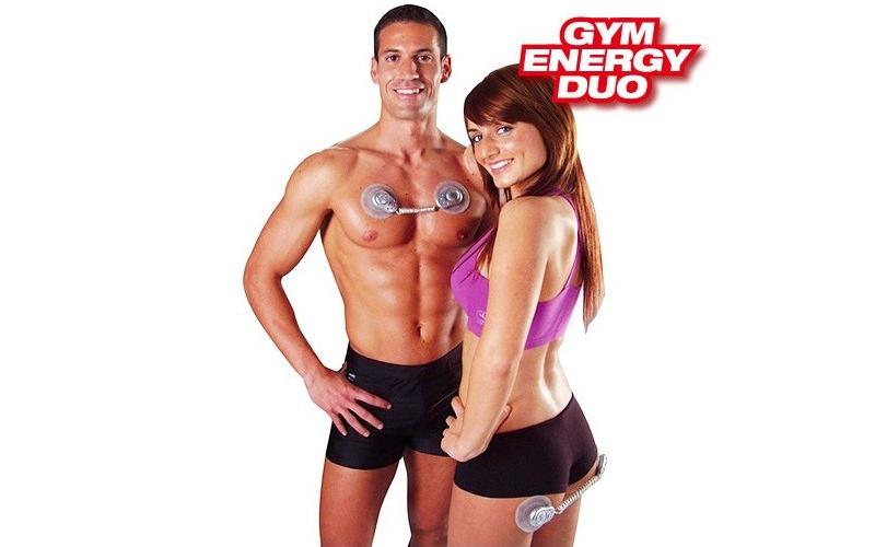 Σύστημα παθητικής γυμναστικής Μυϊκής Ηλεκτροδιέγερσης, Gym Energy Duo G1500113 - αθλητισμός και fitness   παθητική γυμναστική