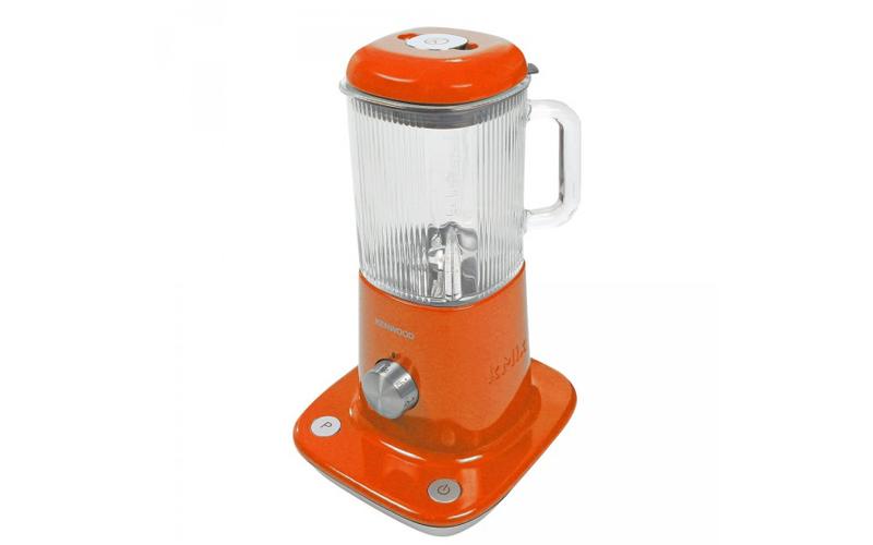Μπλέντερ 800W με 4 ταχύτητες και γυάλινο κάδο 1.6 λίτρων σε πορτοκαλί χρώμα , Ke μικροσυσκευές   μίξερ   μπλέντερ