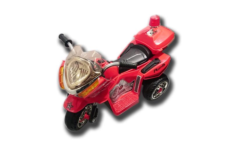 Ηλεκτροκίνητο Παιδικό Μηχανάκι Scooter Τύπου Police 6V με φώτα, Φάρο, Κορνα και  παιχνίδια  παιδί  και  βρέφος   ποδηλατάκια   πατίνια