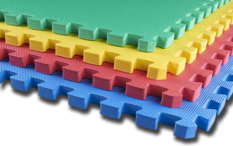 Παιδικό πάτωμα Παζλ EVA ενισχυμένο απο αφρώδες υλικό 4 τεμ 63x63cm πάχους 1cm -  μωρά και παιδιά   παιδική διακόσμηση