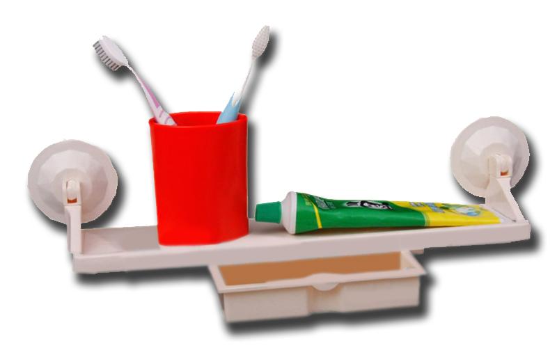 Ραφάκι Κουζίνας / Μπάνιου με Συρτάρι 44.2x12.5cm και Μηχανισμό Βεντούζας για Εύκ μπάνιο   έπιπλα μπάνιου