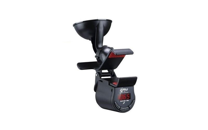 Βάση Αυτοκινήτου με Ασύρματο Πομπό FM Stereo, Bluetooth Hands-Free & Ηχείο - OEM gps και είδη αυτοκινήτου   βάσεις στήριξης για κινητά και tablets