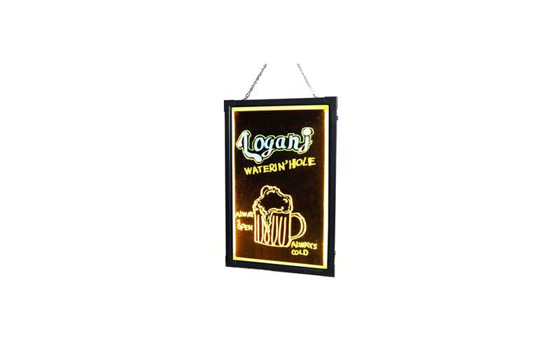 Πίνακας LED Διαφημιστικός Φωτιζόμενος με Εναλλασσόμενα Χρώματα, 40x60cm - OEM διακόσμηση και φωτισμός   διακοσμητικά τοίχου