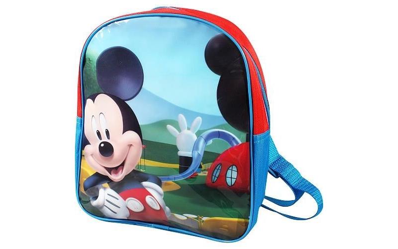 Disney Σχολική Τσάντα Νηπιαγωγείου Δημοτικού Σακίδιο Πλάτης 27x23x7cm με θέμα Mi σχολικά είδη   σχολικές τσάντες