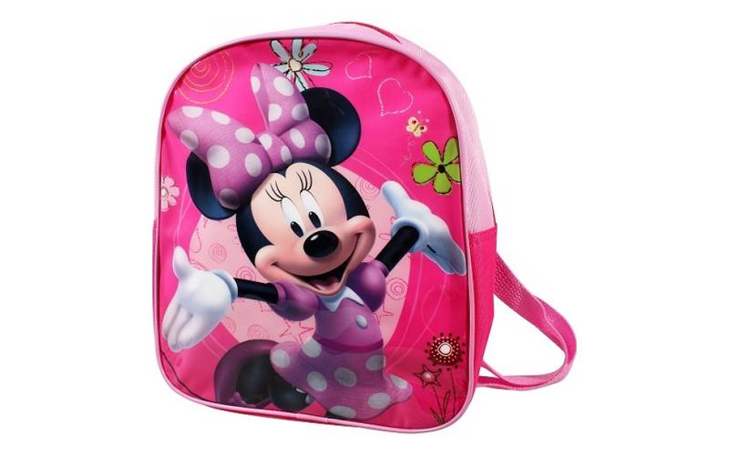 Disney Σχολική Τσάντα Νηπιαγωγείου Δημοτικού Σακίδιο Πλάτης 27x23x7cm με θέμα Mi ρούχα  παπούτσια  και  αξεσουάρ   τσάντες  πορτοφόλια  βαλίτσες ταξιδίου