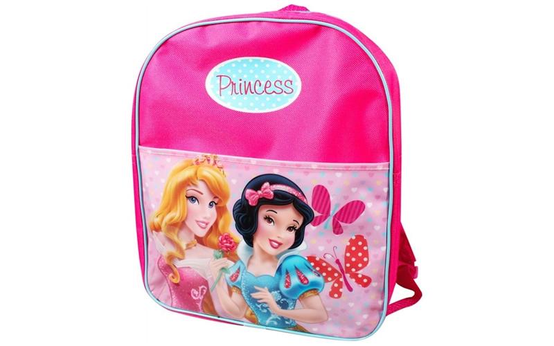 Disney Σχολική Τσάντα Νηπιαγωγείου Δημοτικού Σακίδιο Πλάτης με φερμουάρ Princess σχολικά είδη   σχολικές τσάντες