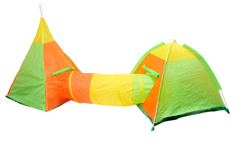 Αναδιπλούμενο παιδικό σπιτάκι σκηνή 3 σε 1 συνολικού μήκους 392cm αποτελούμενο α παιχνίδια  παιδί  και  βρέφος   έξυπνα   εκπαιδευτικά παιχνίδια
