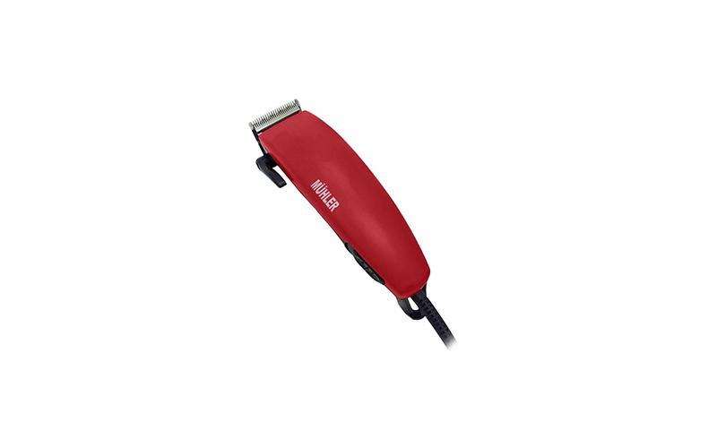 Σετ Μηχανή Κουρέματος Ρεύματος ,Muhler Mc-907s κόκκινη 109136 - Muhler υγεία  και  ομορφιά   ξυριστικές μηχανές