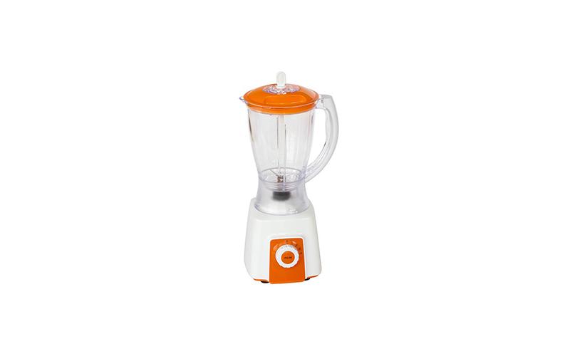 Μπλέντερ 4 Ταχυτήτων smoothie maker για απίθανα ροφήματα σε λευκό και πορτοκαλί χρώμα, Muhler MB-550P 109288 550w – Muhler