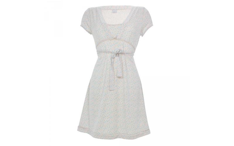 Γυναικείο Νυχτικό από Σπάντεξ και Modal σε Κρεμ χρώμα με μοντέρνο μοτίβο, JOOP!  γυναικεία ένδυση   γυναικεία φορέματα