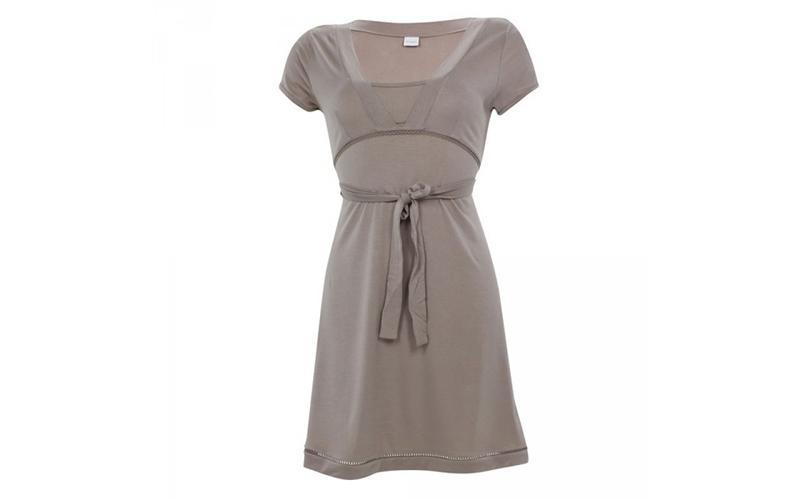 Γυναικείο Νυχτικό από Σπάντεξ και Modal σε Καφέ χρώμα, JOOP! P8201-328 - JOOP! γυναικεία ένδυση   γυναικεία φορέματα