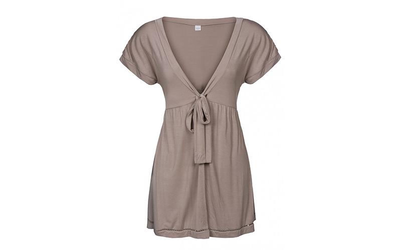 Γυναικεία Μπλούζα από Σπάντεξ και Modal σε Καφέ χρώμα, JOOP! P8201-329 - JOOP! γυναικεία ένδυση   γυναικείες μπλούζες