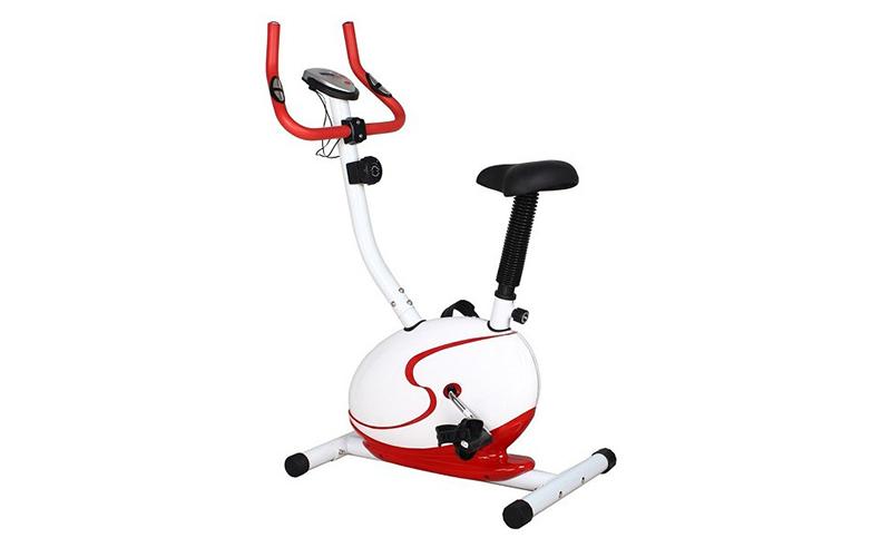 Στατικό Ποδήλατο Γυμναστικής Μεταλλικό σε γκρι χρώμα, 85x52x113cm, Muhler Tune 1 γυμναστική  και  fitness   καθιστά ποδήλατα