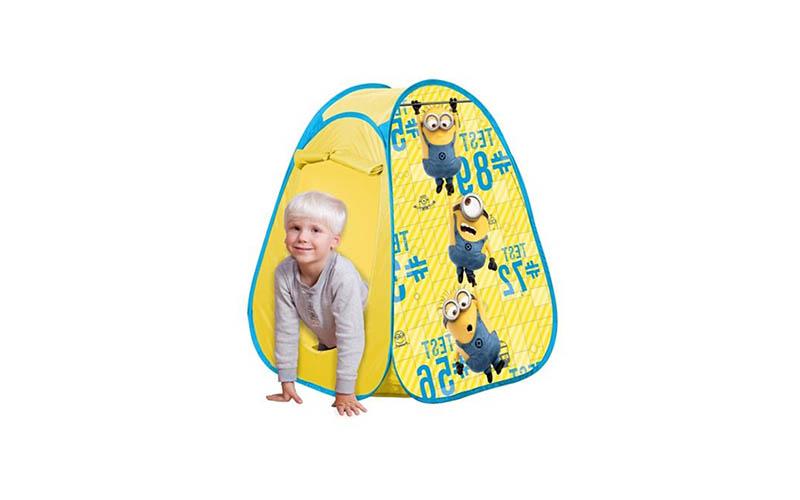 Minions, Σκηνή Pop Up, 72x75x90cm 4244 - minion παιχνίδια  παιδί  και  βρέφος   έξυπνα   εκπαιδευτικά παιχνίδια